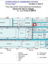 Приглашаем посетить наш стенд на «Московском Боут Шоу 2014» с 11 по 16 марта.